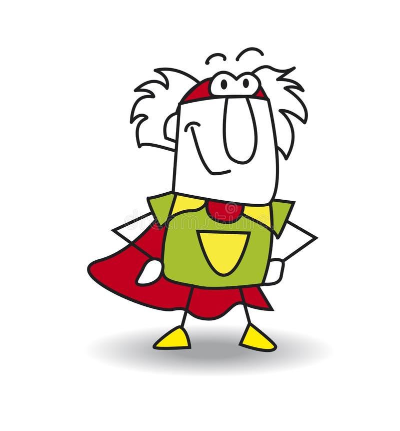 Дед супергерой бесплатная иллюстрация