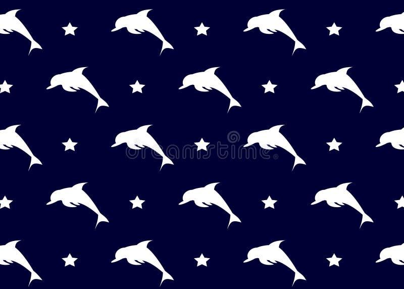 Дельфины предпосылки бесплатная иллюстрация