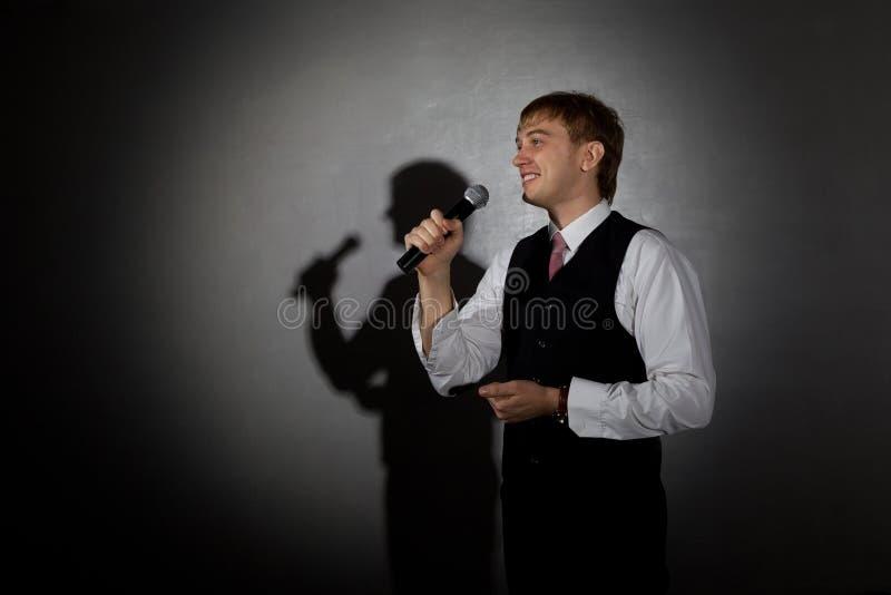Джазовый музыкант стоковое изображение rf