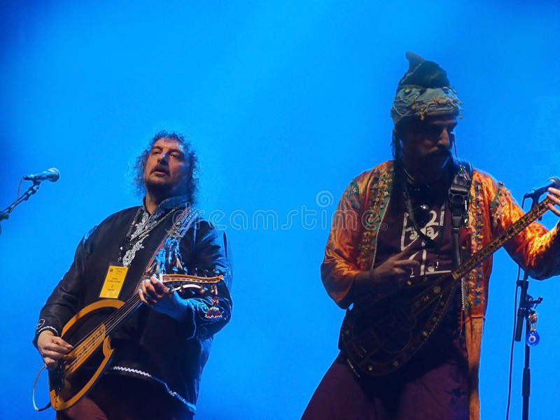 Джазовый фестиваль Монреаля zula Бабы стоковое изображение