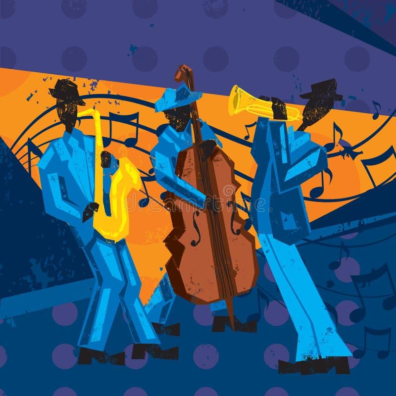 Джаз-бэнд бесплатная иллюстрация