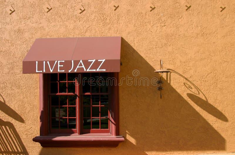 джаз в реальном маштабе времени стоковые изображения