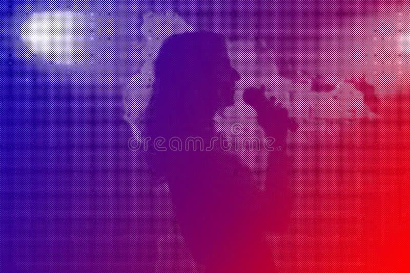 Джаз диапазона музыки стоковая фотография rf