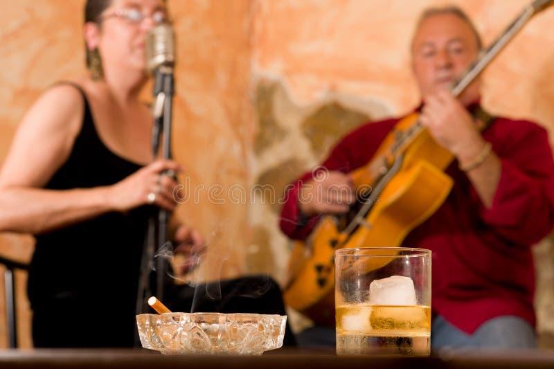 джаз клуба атмосферы стоковые фотографии rf