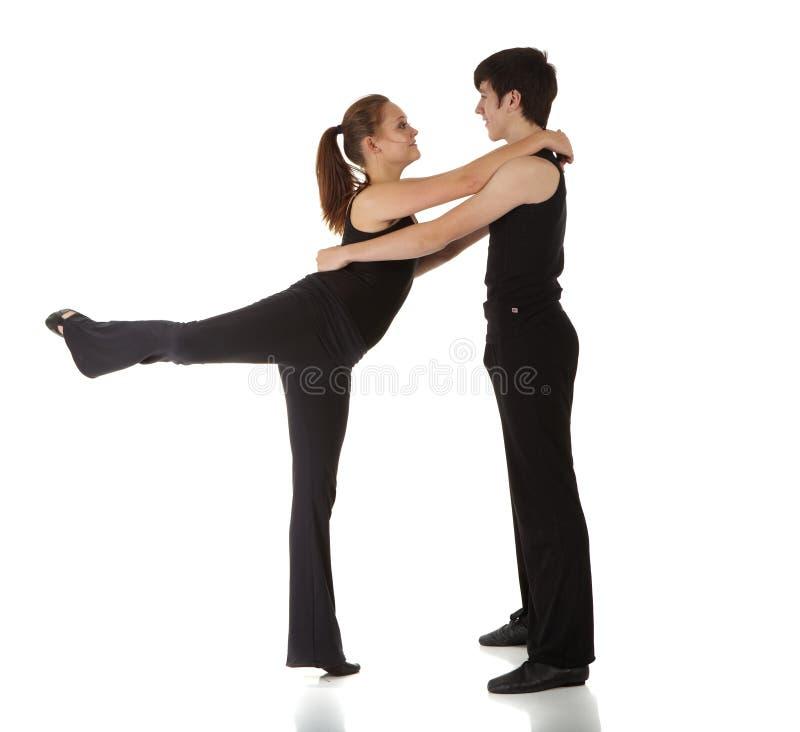 джаз танцора самомоднейший стоковое изображение