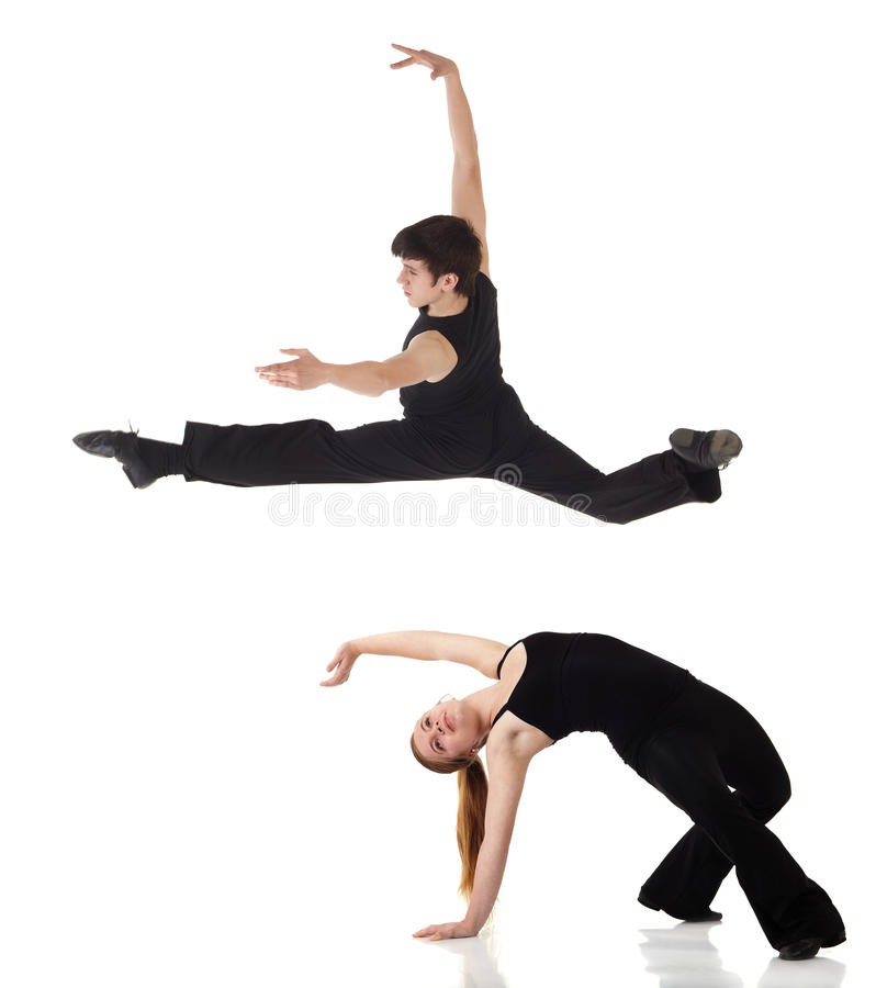 джаз танцоров самомоднейший стоковая фотография