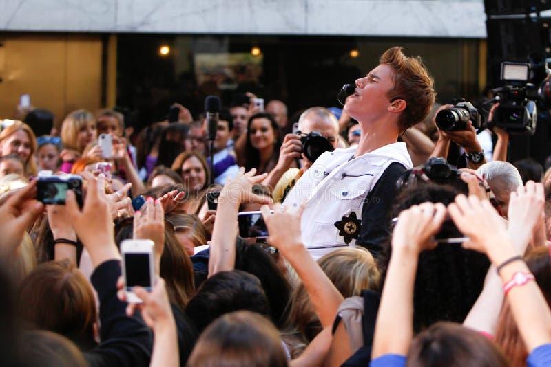 Джастин Bieber стоковая фотография