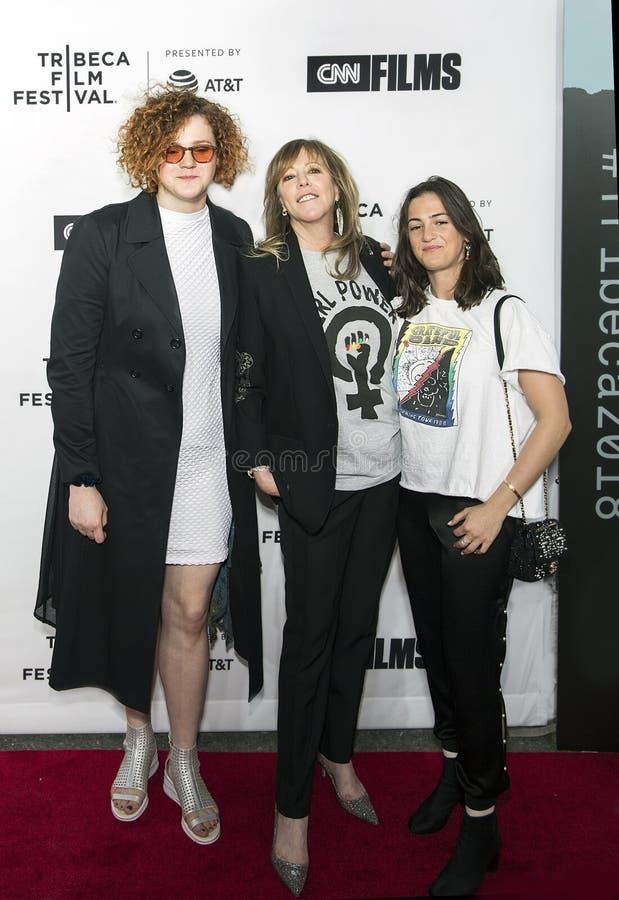 Джейн Rosenthal приезжает на вечер торжественного открытия фестиваля фильмов 2018 Tribeca стоковые фото
