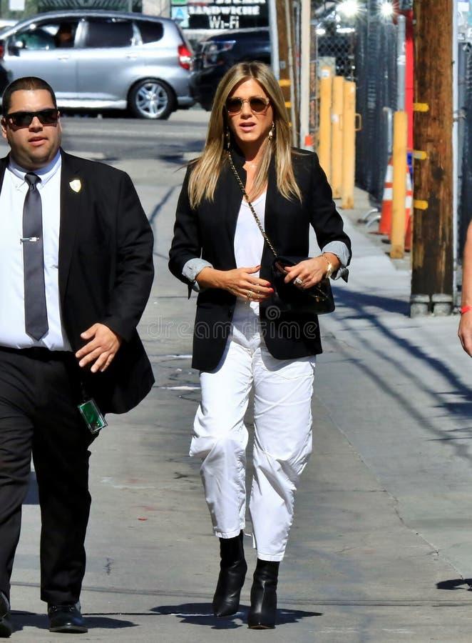 Дженнифер Aniston в Голливуд стоковое изображение rf