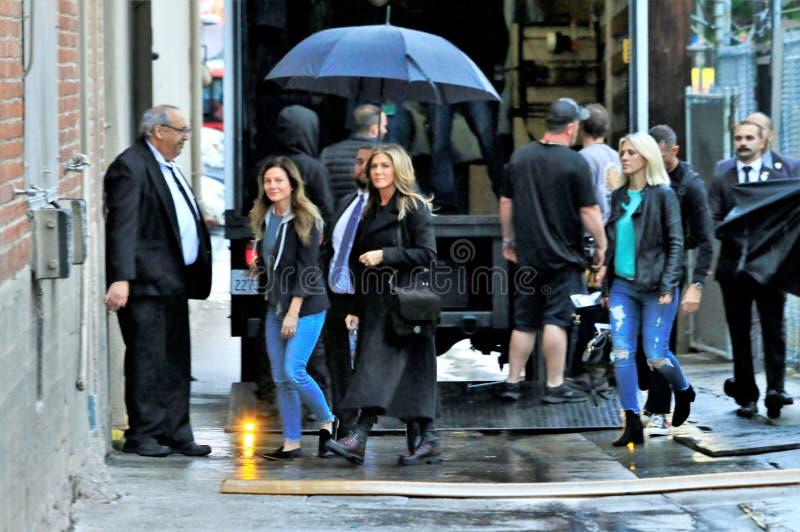 Дженнифер Aniston в Голливуд стоковая фотография rf