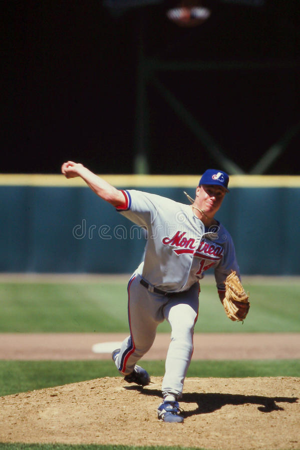 Джеф Juden, Montreal Expos стоковое изображение