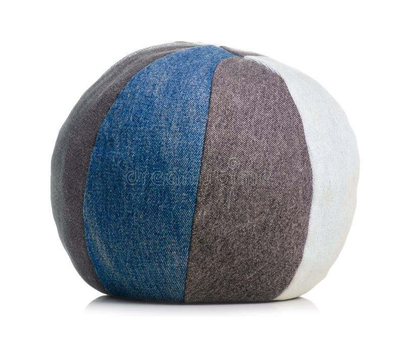 Джинсы зашитые шариком стоковое изображение rf