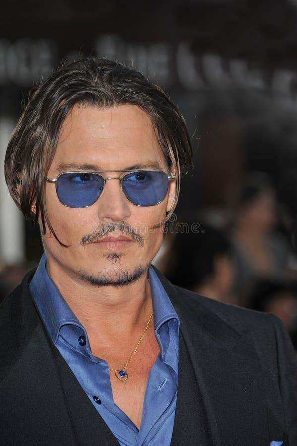 Джонни Depp, общественный противник стоковые изображения rf