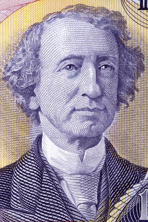 Джон Александр Macdonald портрет стоковая фотография