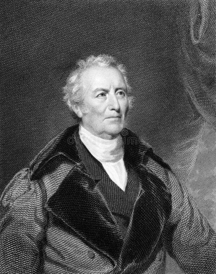Джон Trumbull стоковое изображение
