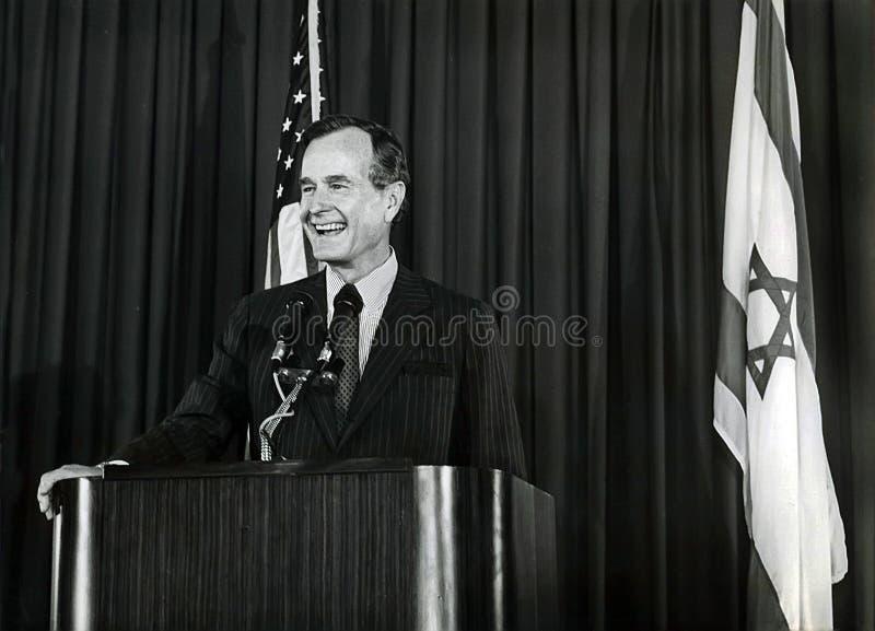 Джордж h W Буш стоковые фотографии rf