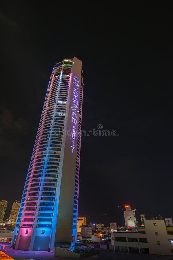 Джорджтаун, башня Komtar и вид на город стоковые изображения