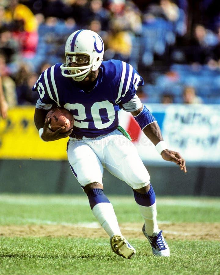 Джо Вашингтон Балтимор Colts стоковое изображение
