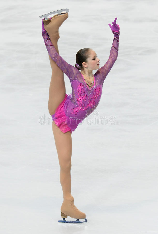 Джулия LIPNITSKAIA (RUS) стоковые фото