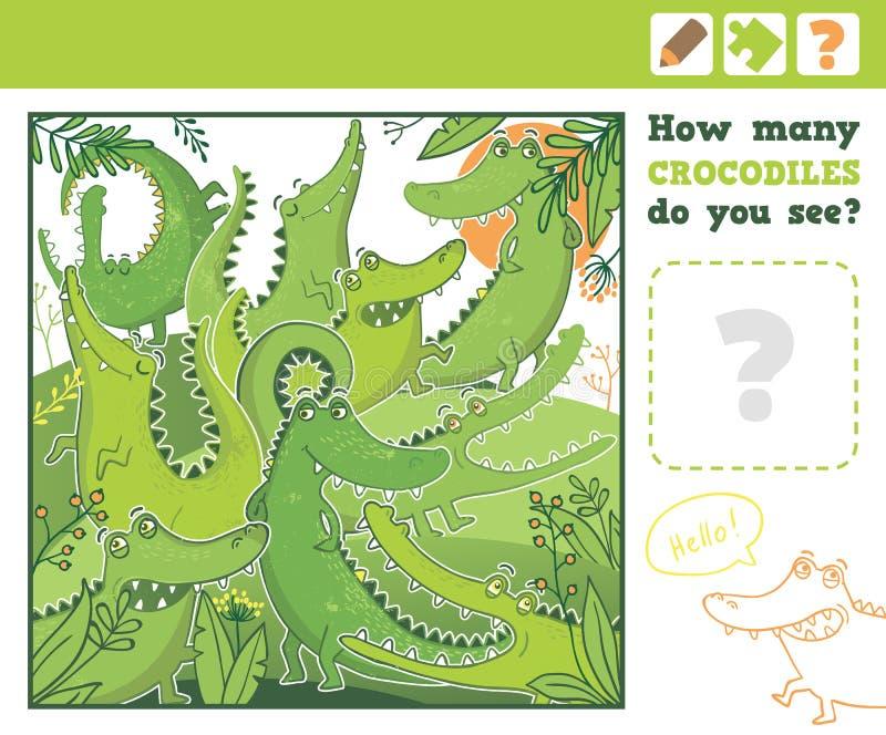 Джунгли Образование подсчитывая игру для детей бесплатная иллюстрация