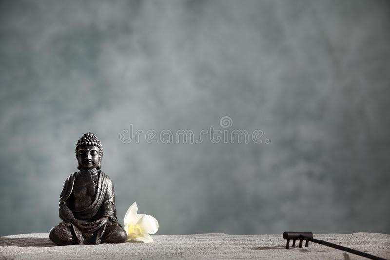 Дзэн Будды стоковое изображение
