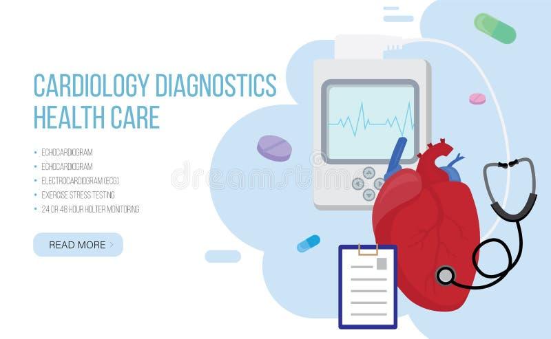 Диагностики кардиологии r бесплатная иллюстрация