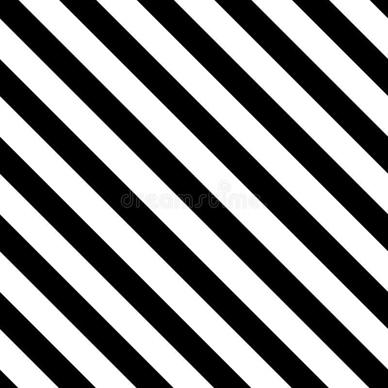 Диагональ вектора stripes безшовная картина иллюстрация вектора