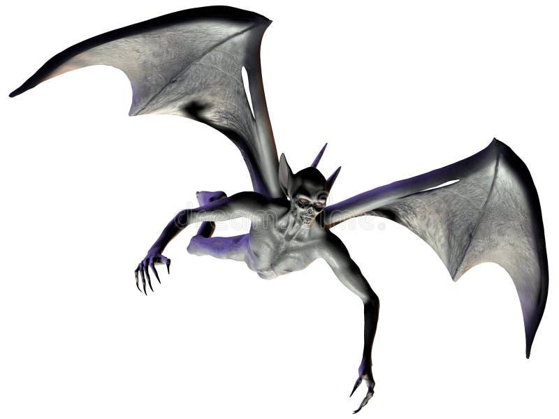 диаграмма вампир halloween иллюстрация вектора