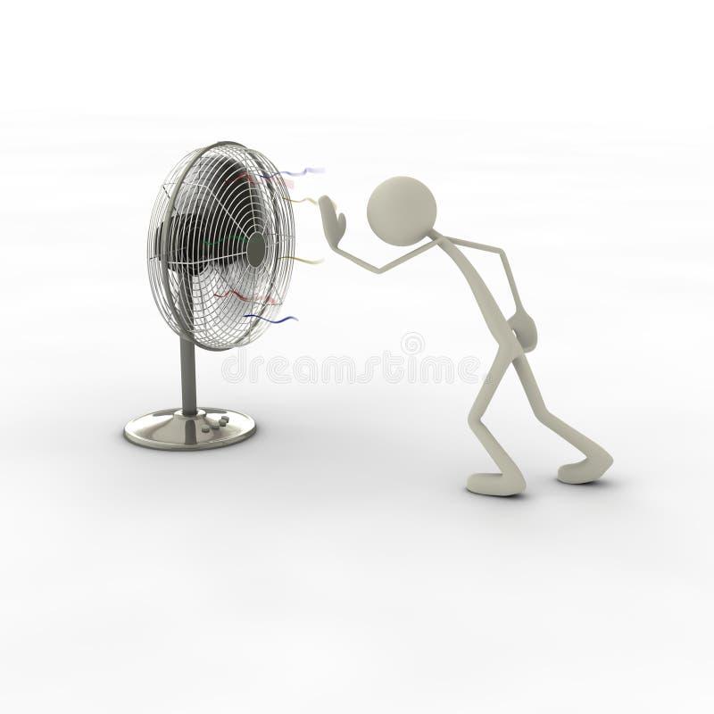 диаграмма вентилятора бесплатная иллюстрация