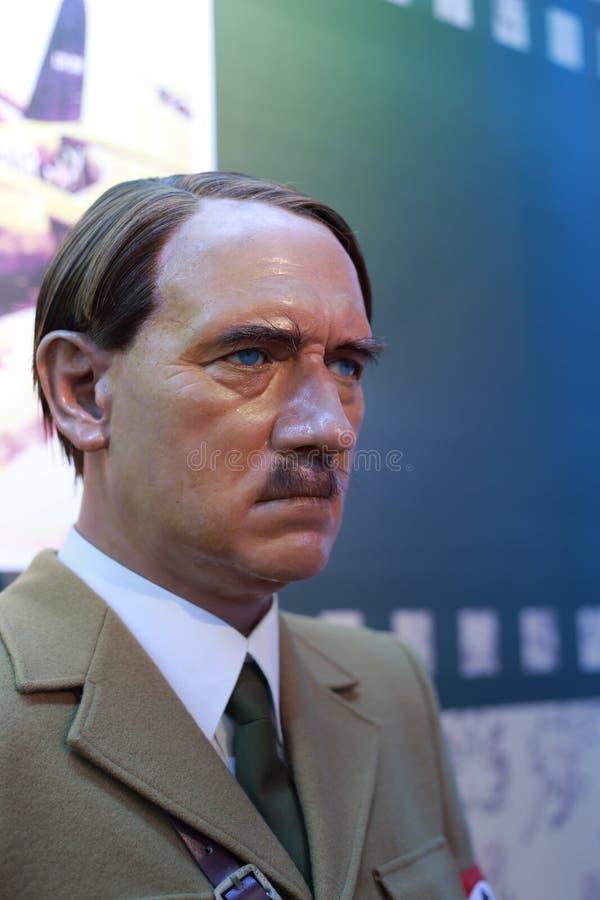 Диаграмма воска Адольфа Гитлера стоковые фотографии rf