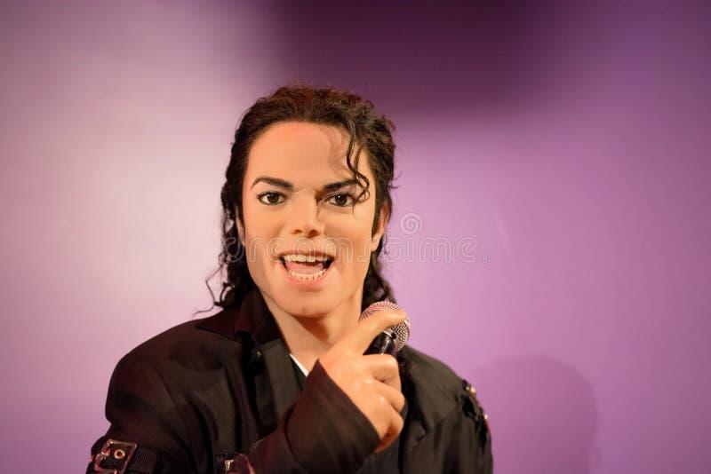 Диаграмма воска Майкл Джексона стоковая фотография rf