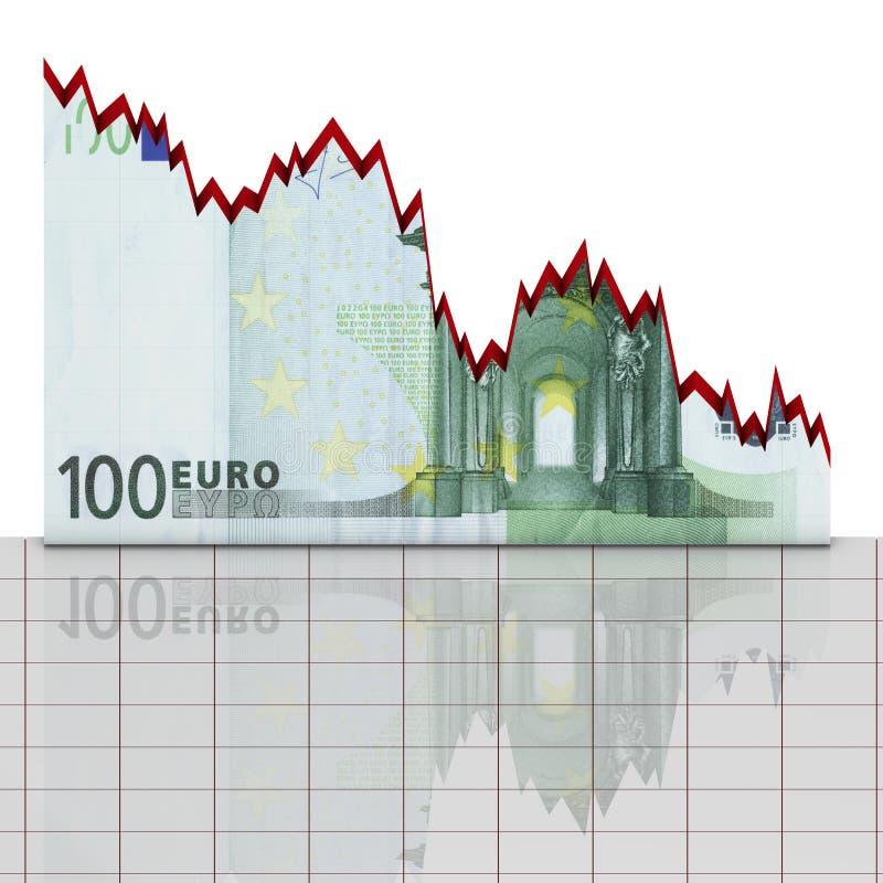 диаграмма евро принципиальной схемы иллюстрация вектора