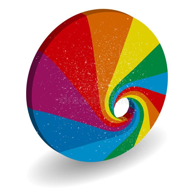 Диаграмма жизненного цикла вектора, схема иллюстрация штока