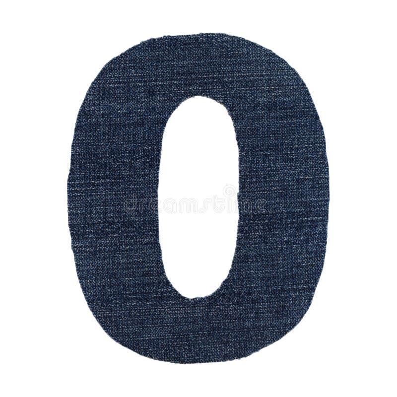 Диаграмма джинсовая ткань нул стоковая фотография rf