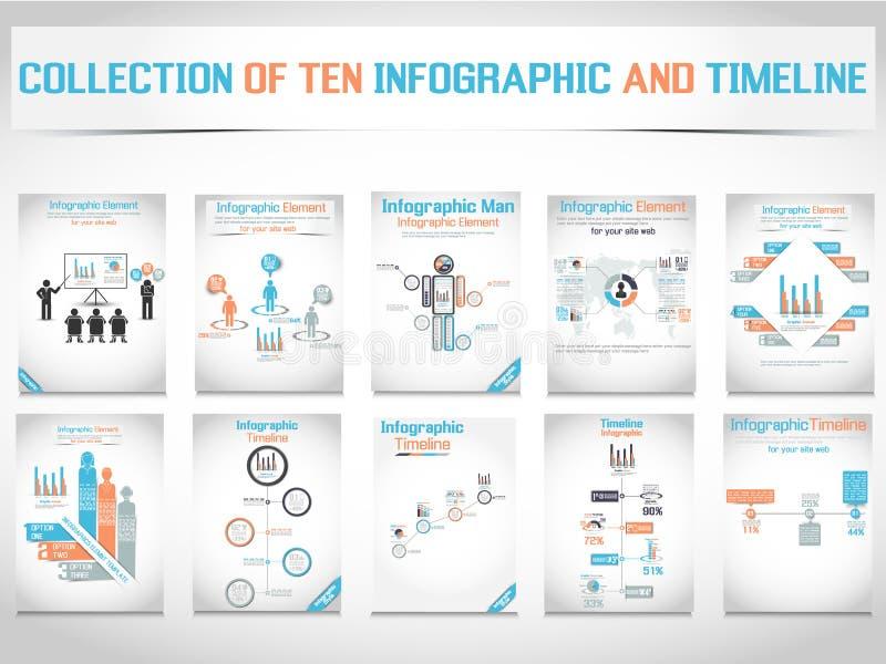 Диаграмма и график элементов Infographic бесплатная иллюстрация