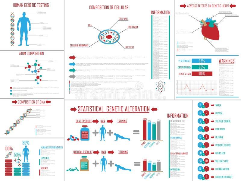Диаграмма и график элементов Infographic иллюстрация штока