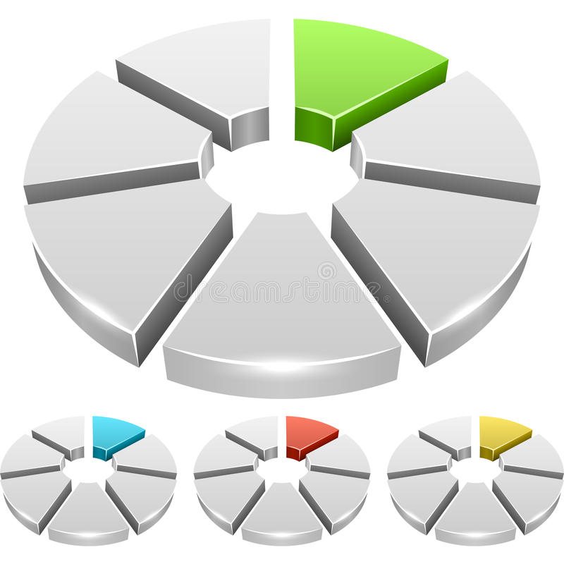 Диаграмма колеса бесплатная иллюстрация