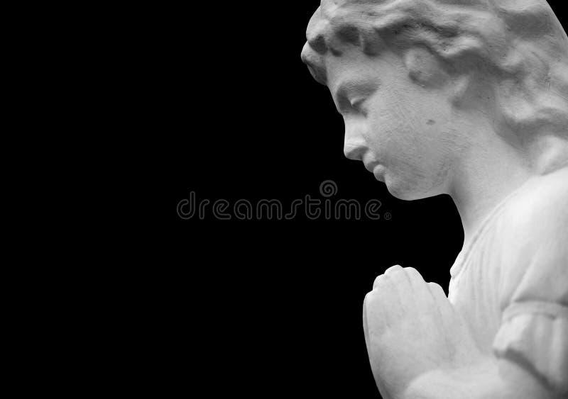 Диаграмма моля ангела на черной предпосылке стоковые изображения rf