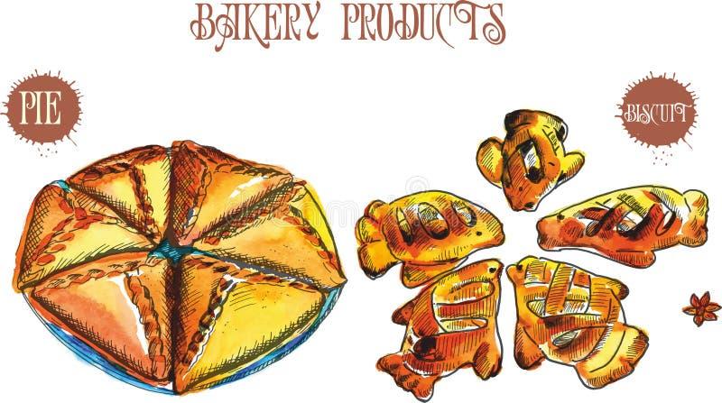Диаграмма печь вручную в старом стиле Иллюстрация чертежей черно-белая винтажная : иллюстрация штока