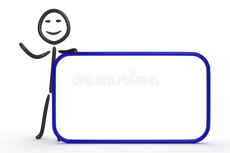 диаграмма ручка иллюстрация штока