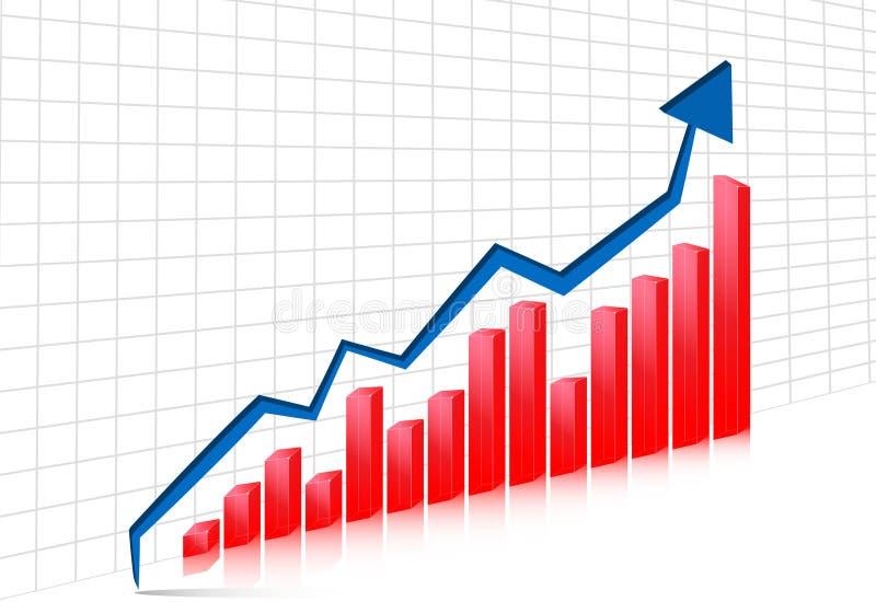 диаграмма стрелки 3d бесплатная иллюстрация