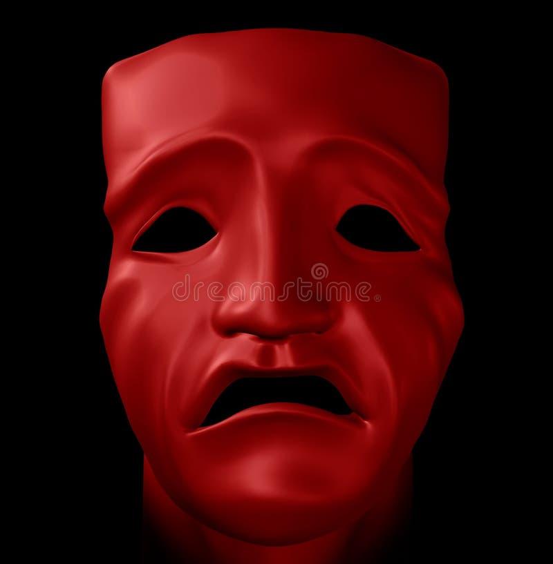 диаграмма трагизм маски бесплатная иллюстрация