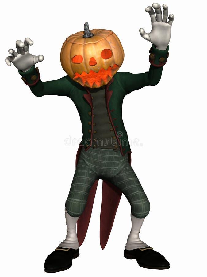 диаграмма тыква господина halloween бесплатная иллюстрация