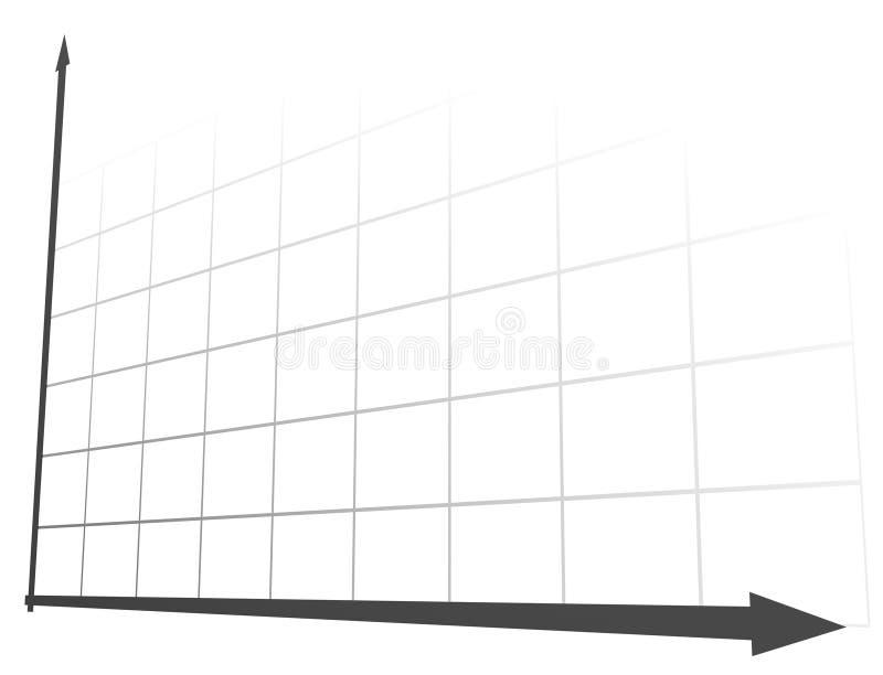 диаграмма 3d 7 иллюстрация штока