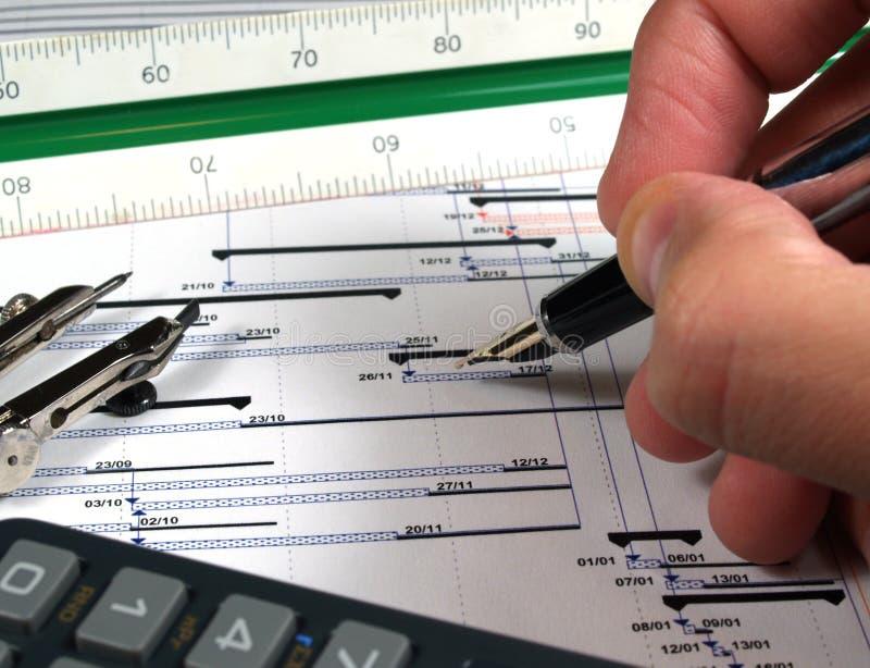диаграмма analyisis стоковая фотография rf