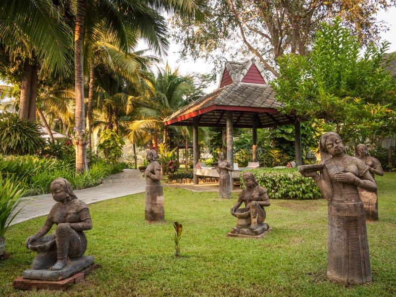 Диаграммы в парке, Таиланде стоковая фотография