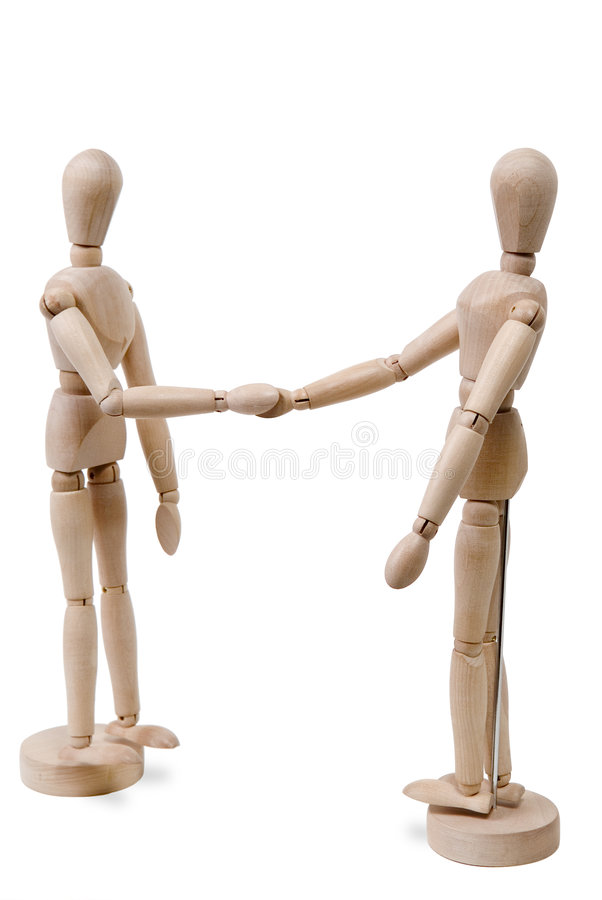диаграммы shake руки стоковое фото rf