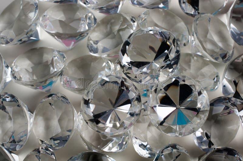 Диаманты голубые стоковое изображение
