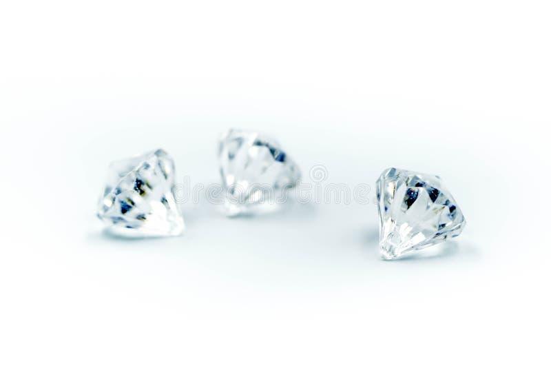 диаманты предпосылки белые стоковое изображение