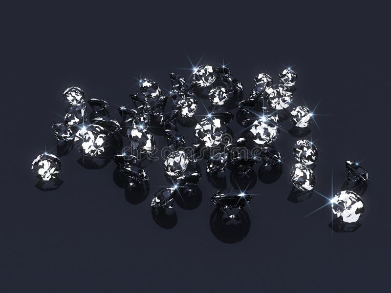 диаманты иллюстрация штока